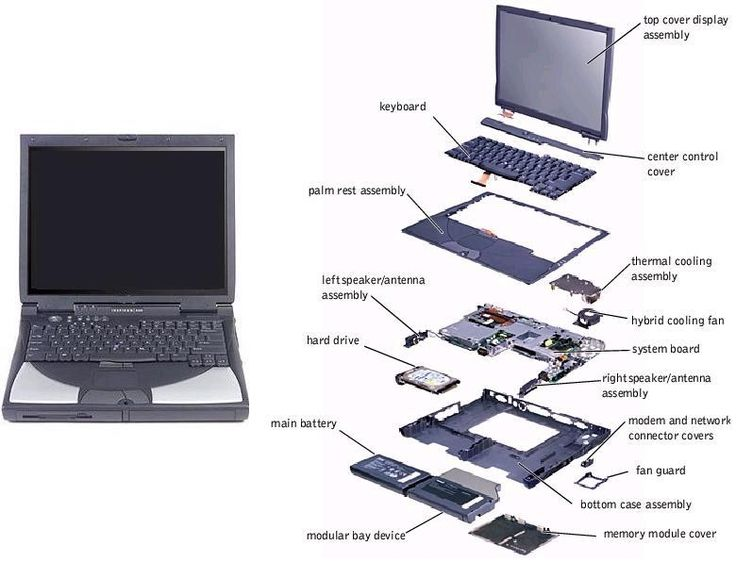 Laptop Parts & Repair
